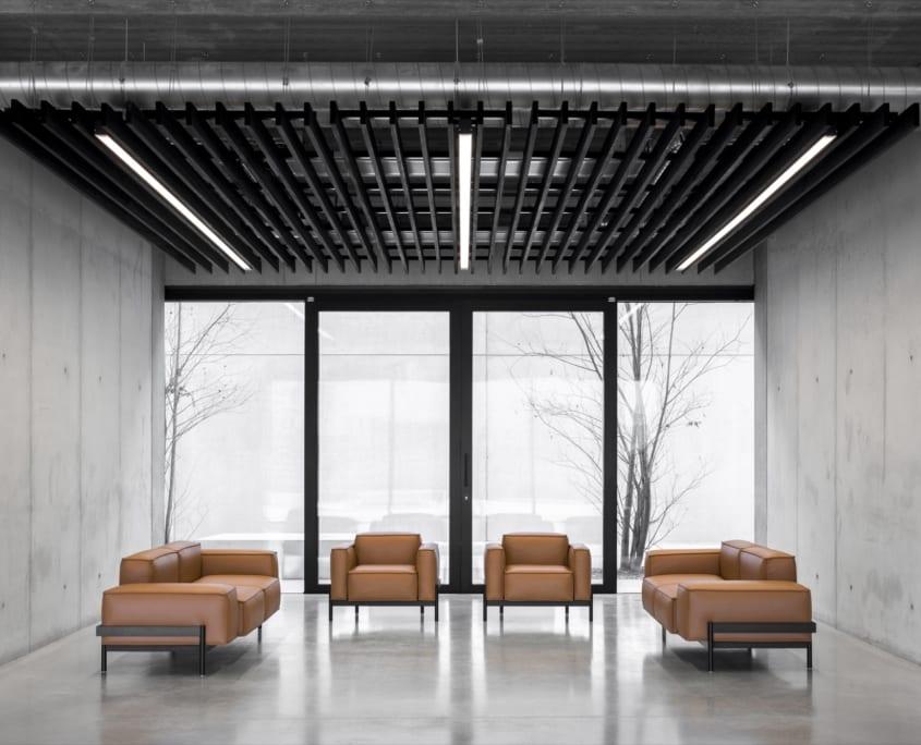 PETAC® plafond avec un système acoustiques chez Ragolle