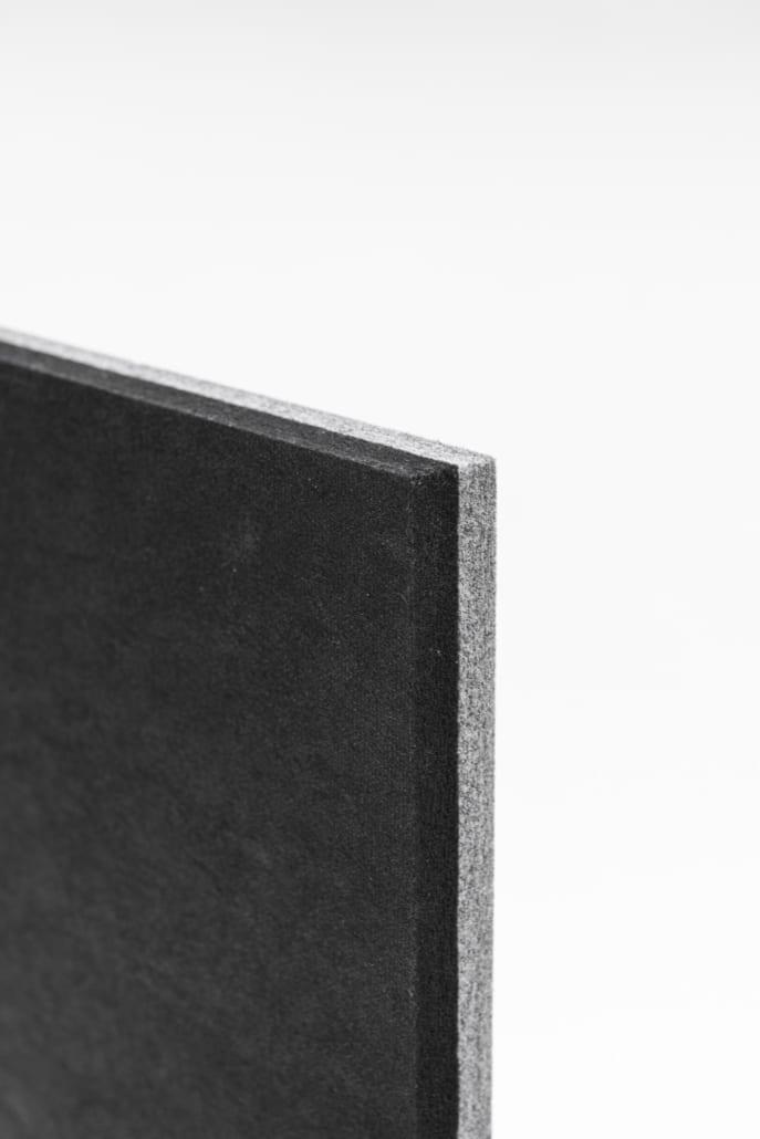 Detail PETAC® platen verlijmd