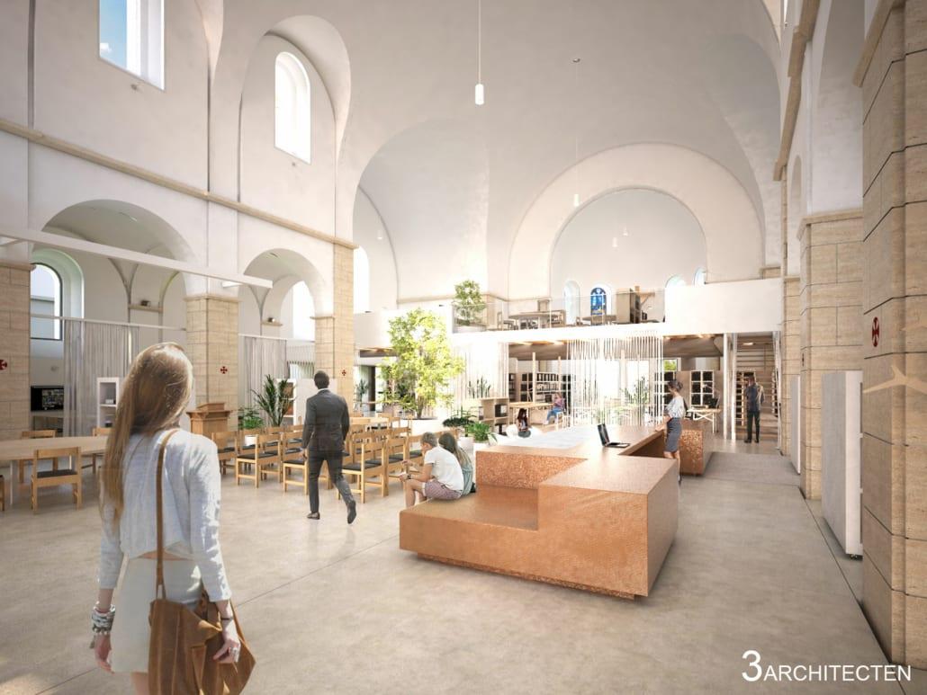 Render renovation Sint-Jozefkerk