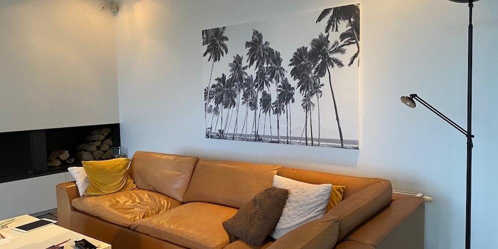 Revêtement mural acoustique personnalisé en finition
