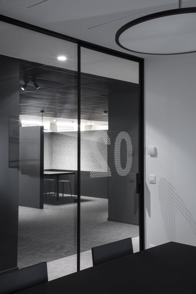 Tight wall dividers and silent pods from PETAC® for Soenen Metaal from Roeselare