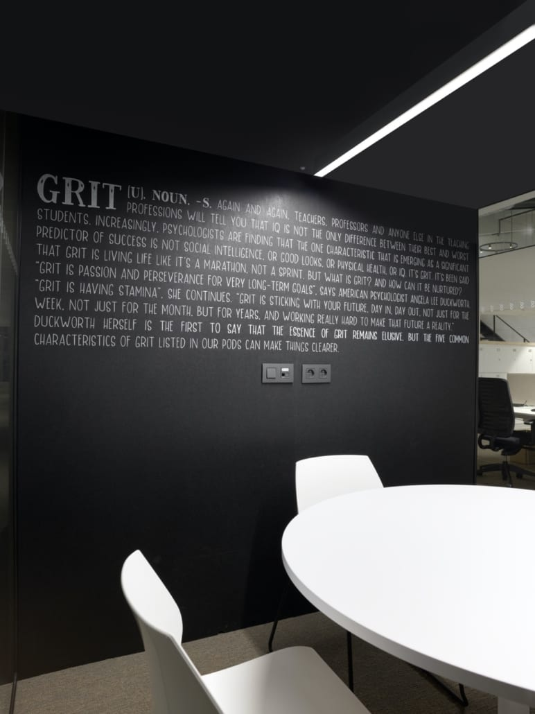 Silent pods with printed PETAC walls